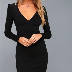 Lulus black body con mini dress